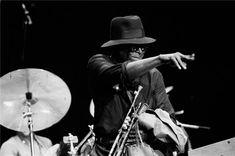 Miles Davis, Chicago,1983  by Paul Natkin