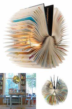Atlas Book Lamp  by Bom design
