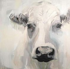 A rustic abstract cow in blue and gray farmhouse art Animal Paintings, Animal Drawings, Art Drawings, Art Paintings, Paintings Of Cows, Farmhouse Paintings, Magnolia Colors, Cow Painting, Art Inspiration Drawing