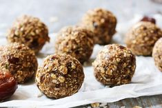Introduce high protein snacks into your diet to improve muscle tone, keep energy levels steady and boost your metabolism. Check out recipes for these Coconut Truffles, Dairy Free Snacks, Tasty Snacks, Fertility Foods, No Bake Energy Bites, Road Trip Snacks, Sugar Free Cookies, Snacks Saludables, Chocolate Protein Powder