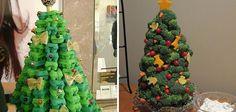 27 Ideias de Árvores de Natal criativas e incomuns que você mesmo pode fazer | Tudo Interessante | Curiosidades, Imagens e Vídeos interessantes