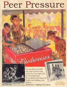 Budweiser e escoteiros. Uma reunião inusitada!!!