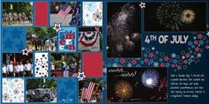 4th of July digital scrapbook page by Leslie Beahm; software: Storybook Creator by Creative Memories; Artwork: Cheerful Stars and Stripes (also available in Universal Format); Font: Peal Lil King; click here for details and instructions: http://projectcenter.creativememories.com/digital/2012/06/4th-of-july-cheerful-stars-stripes-digital-scrapbooking-layout.html