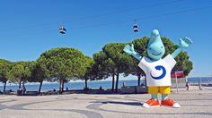 Parque das Nações - Mascotte de l'Expo Universelle