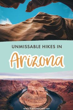 Looking for the best hikes in Arizona? Hiking in Arizona is a bucket list item for many, but with so many trails to choose from, it's not easy to pick your destination. Here is a curated list of the best hikes in Arizona for the ultimate bucket list! State Of Arizona, Arizona Travel, Grand Canyon National Park, National Parks, Havasupai Falls, Colorado River, Travel Activities, Best Hikes, Once In A Lifetime