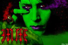 Marilyn Manson  https://www.facebook.com/MarilynManson/?fref=ts