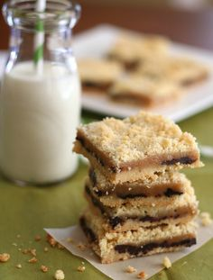 Salted Caramel Crumb Bars - Low Carb and Gluten-Free