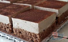 Chocolate Mousse Cake- Schoko-Creme-Kuchen Delicious cream and chocolate flavor in one. Quick Dessert Recipes, Easy Cake Recipes, Easy Desserts, Sweet Recipes, Chocolate Cream Cake, Chocolate Flavors, Chocolate Chocolate, Easy Vanilla Cake Recipe, Pecan Recipes