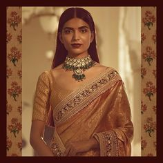 Traditional classic jewellery by sabyasachi Sabyasachi Sarees, Kanjivaram Sarees, Indian Sarees, Lehenga, Indian Attire, Indian Wear, Indian Outfits, Pakistani Outfits, Indian Style