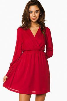 Cute little red dress