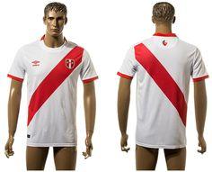 Camiseta de peru 2015 2016 continúa la tradición de rojo y blanco peruana  equipo nacional 7ca79a81121