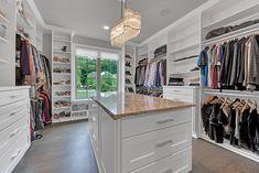 Master Closet Layout, Master Closet Design, Attic Master Bedroom, Walk In Closet Design, Closet Designs, Closet Bedroom, Walking Closet, Closet Renovation, Closet Remodel
