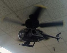 awesome ceiling fan....Helicopter look