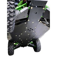Kawasaki Teryx-4 Skid Plate With Rock Gliders Sliders