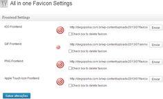 Como mudar o Favicon do #Wordpress. Personalize seu #site ou #blog http://diegopsilva.com.br/como-mudar-favicon-wordpress/