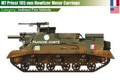 M7 Priest 105 mm HMC (USA)
