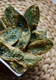 Breaded Fried Sage Leaf Appetizer