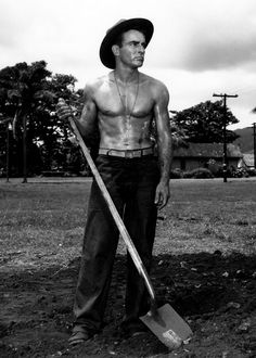 """Montgomery Clift in """"From here to Eternity"""""""