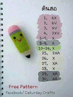 Crochet Keychain Pattern, Crochet Bookmarks, Crochet Doll Pattern, Crochet Patterns Amigurumi, Crochet Dolls, Crochet Yarn, Crochet Flowers, Crochet Stitches, Crochet Classes