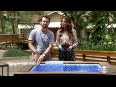 """Designer Fábio Basso ensina como fazer piscina de Pallet """"É de Casa"""" - YouTube"""