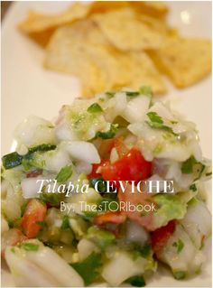 Ceviche Recipe - Our neighbors shared some ceviche with us, so now I'm craving more & want to make my own. Must try!