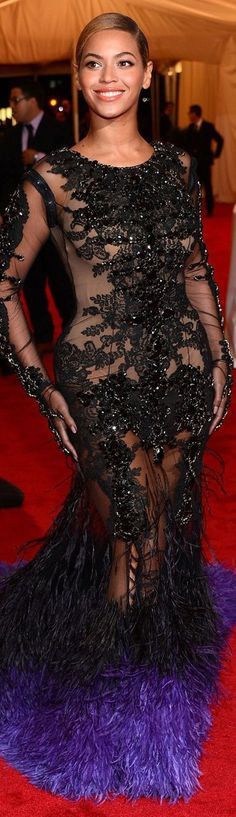 Beyonce in a Givenchy Haute Couture gown | House of Beccaria#