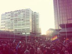 'Que viva la lucha de la clase obrera' #22mMarchasPorLaDignidad
