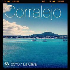 Corralejo in Fuerteventura