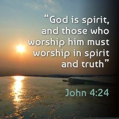 God is spirit