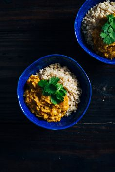 As part of the traditional Ayurvedic cleanse red lentil kitchari is flavorful and delicious while providing the body with complete protein. Raw Food Recipes, Cooking Recipes, Healthy Recipes, Healthy Meals, Tasty Meals, What's Cooking, Ketogenic Recipes, Vegan Meals, Vegan Food