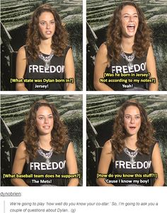 kaya about dylan o´brien. Ahhh I just love her! First saw her in the brits version of Skins, and she was awesome! My new fave girl, well right after Jennifer Lawrence of course
