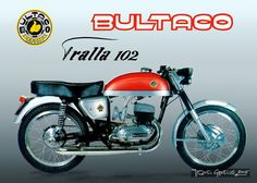 BultacoHistoria2 Bultaco Motorcycles, Cool Motorcycles, Motorbikes, Motorcycle Posters, Motorcycle Bike, Classic Motorcycle, Vintage Bikes, Vintage Toys, Harley Davison