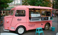 Food Truck Confeitaria de Doces - Vintage e Retrô