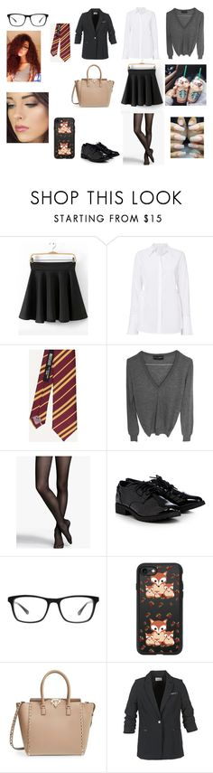 """""""Untitled #339"""" by maddison-baron on Polyvore featuring A.L.C., Dolce&Gabbana, Express, Joseph Marc, Casetify, Valentino and School Rag"""