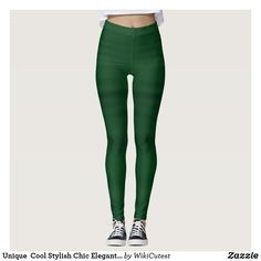 Unique Cool Stylish Chic Elegant Pattern Cute Leggings St Patrick's Day Leggings, Ombre Leggings, Coloured Leggings, Green Leggings, Yoga Leggings, Workout Leggings, Workout Pants, Yoga Pants, Camouflage Leggings