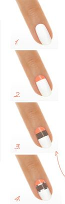 collection-Neon-essie-pro-vernis-tendance-ete-2014-tuto-nail-art-facile-crossing-the-lines-step-by-step
