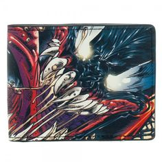 This is a Venom themed wallet that is produced by Bioworld. The Venom wallet features some seriously gnarly Venom graphics on the front, and the Venom logo graces the back. Inside the wallet you'll al