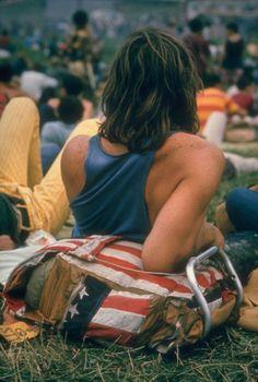 Foto inedite del festival di Woodstock nel 1969