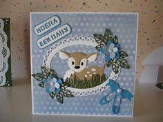 Voorbeeldkaart - geboorte - Categorie: Scrapkaarten - Hobbyjournaal uw hobby website
