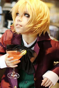 If you watch anime you'll know who this character is just by looking at the costume:)