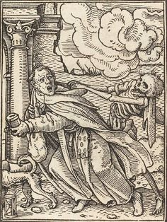 Hans Holbein, The Dance of Death (Danse Macabre), Woodcut from between 1522 and 1538