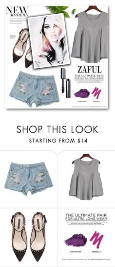 """Fashion 44"" by tanja133 ❤ liked on Polyvore featuring Zara, Urban Decay and Bobbi Brown Cosmetics"