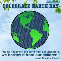 Happy #Earthday Everyone!  How are you making a change?