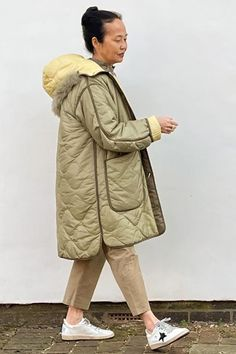 The Reversible Signature Quilt in Pale Sage Green - Marfa Stance Signature Quilts, Signature Style, Sage Color, Classic Trench Coat, Fabric Combinations, Packing Light, Japan Travel, Perfect Fit