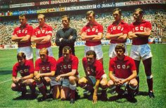 USSR  May 31, 1970 World Cup, Mexico 0-USSR 0