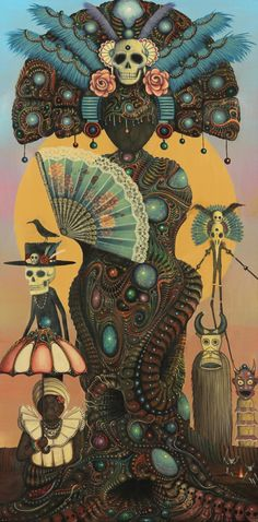The work of visual artist Paul Lewin - http://www.afropunk.com/profiles/blogs/feature-sci-fi-meets-folklore-the-work-of-visual-artist-paul Via Afropunk