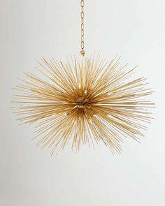 sunburst chandelier | Kelly Wearstler