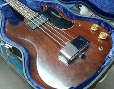 Vintage 1968 Gibson EB-0 Electric Bass
