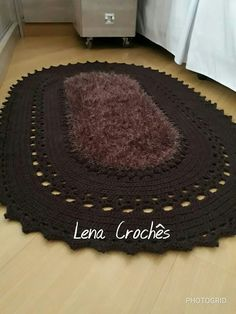 Table Covers, Bed Covers, Bath Rugs, Crochet Doilies, Rug Making, Carpet, How To Make, Crafts, Doilies Crochet