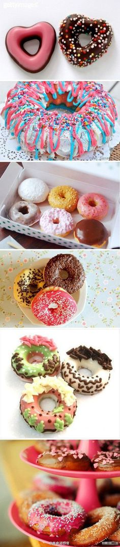Donuts @Alicia Pankan!!!!! You know what I'm talking about! hahaha! This is the first thing I saw when I went on Pinterest today! LOL